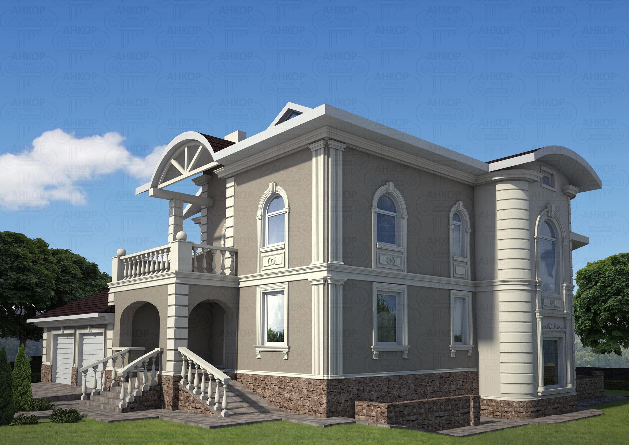 Декор на фасад дома своими руками 983